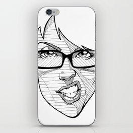 FACE WANDA iPhone Skin