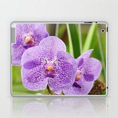 Purple Orchids Laptop & iPad Skin