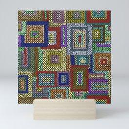 Kaffe Fassett Squares Mini Art Print