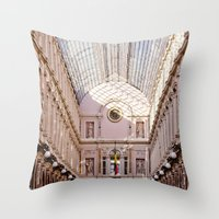brussels Throw Pillows featuring brussels by Beau Colin