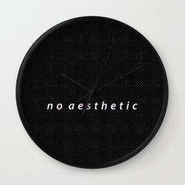 no aesthetic Wall Clock