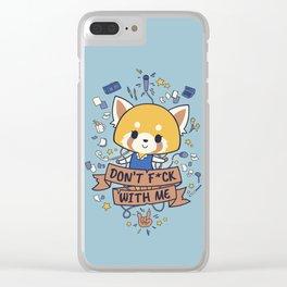 Little But Tough Clear iPhone Case