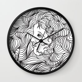 Lost myself Wall Clock