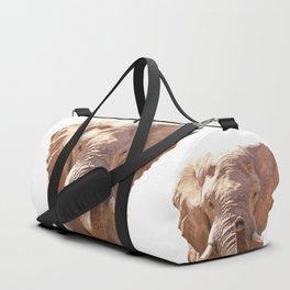 Elephant illustration Duffle Bag