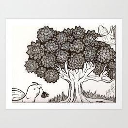 The Tree of Life Art Print