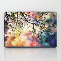 beth hoeckel iPad Cases featuring the Tree of Many Colors by Caleb Troy