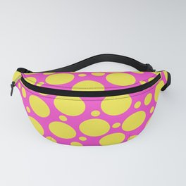 Polka Dots in Hot Pink & Sunny Yellow Fanny Pack