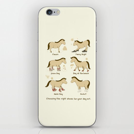 Horse Shoes iPhone & iPod Skin