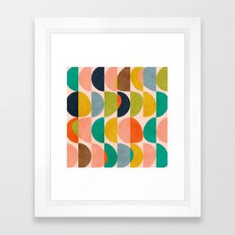 shapes abstract II Framed Art Print