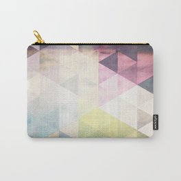 Geometric Groove Carry-All Pouch