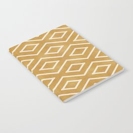 Stitch Diamond Tribal in Gold Notebook