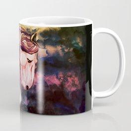 Dark Horse Sky Nebula Coffee Mug