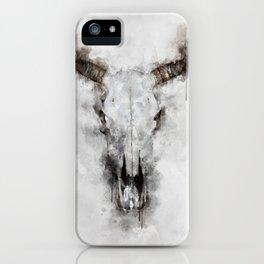 Animal skull iPhone Case