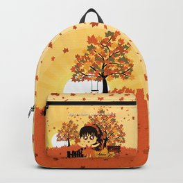 Autumn Girl Backpack