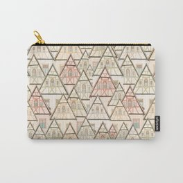 Pattern Houses Carry-All Pouch