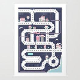 Playmat Art Print