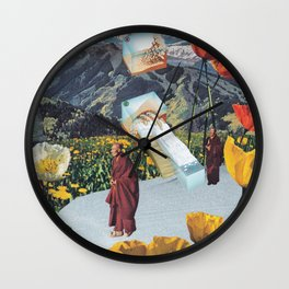 The Way to Nirvana Wall Clock
