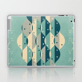 50's floral pattern IV Laptop & iPad Skin