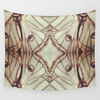 spanish Wall Tapestries featuring Spanish Moon Moth #1 by CharGyse