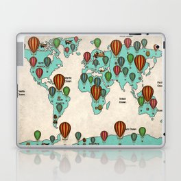 map c Laptop & iPad Skin
