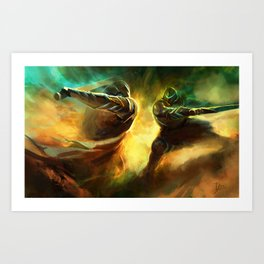 The Way of Kings: Shard Bearers Art Print