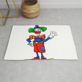 clown cartoon Rug