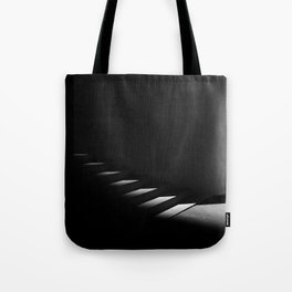 Floating Staircase Tote Bag