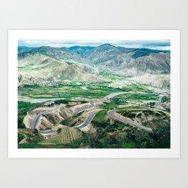 Panamericana (Ecuador) Art Print