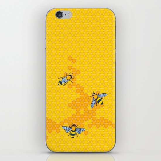 HoneyBees 1 iPhone & iPod Skin