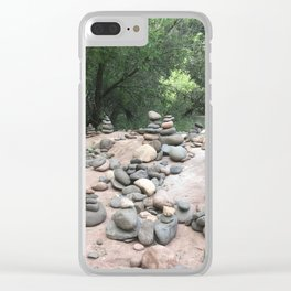 Sedona Cairns Clear iPhone Case