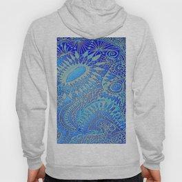 Blue pattern Hoody