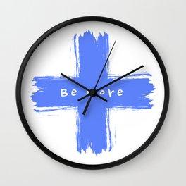 Be More Wall Clock