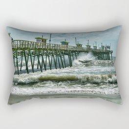Surge Under The Pier Rectangular Pillow
