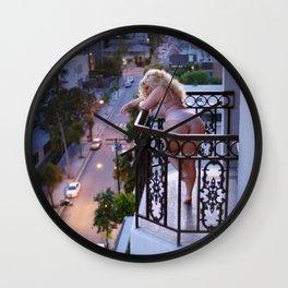 """"""" Sunset"""" Trisha Paytas by Isaiah Mays Wall Clock"""