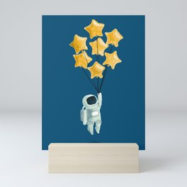 Astronaut's dream Mini Art Print