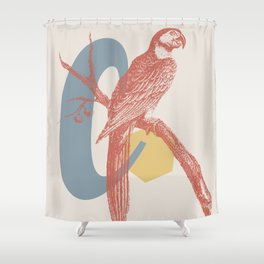 C Shower Curtain
