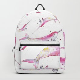 Unicorn Dolphin Backpack