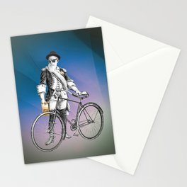Every weekend I take the fixed gear to the farmers market for Vegan Artisan Granola. Stationery Cards