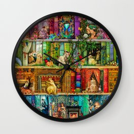A Stitch In Time 2 Wall Clock