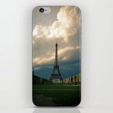 Paris, the Eiffel Tower in November iPhone & iPod Skin