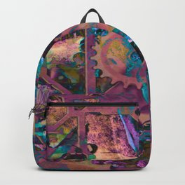 Steampunk,abstract Backpack