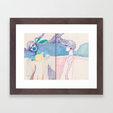 Hair Play 04 Framed Art Print