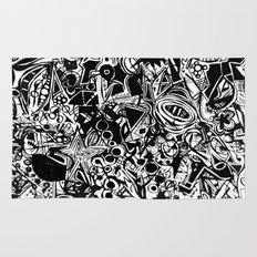 Black/White #1 Rug