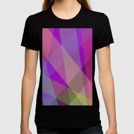 Stripes - Purple T-shirt