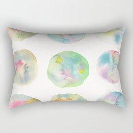 Imperfect Circles Rectangular Pillow