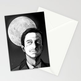 The eye of the moon Stationery Cards