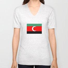Darfur sudan country region ethnic flag Unisex V-Neck