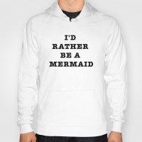 mermaid Hoodies featuring MERMAID by Trend
