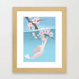 sakura Framed Art Print