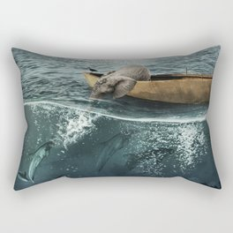 One summer day... Rectangular Pillow